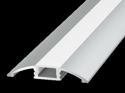 Алюминиевый профиль для пола и порогов FLOOR ARC-608FL