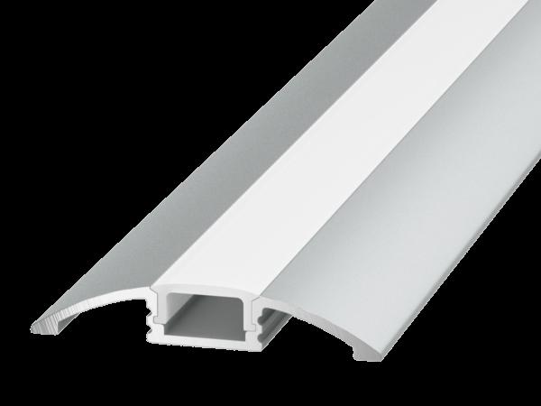 Профиль алюминиевый для пола и порогов SWG FLOOR ARC-608FL