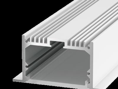 Встраиваемый алюминиевый профиль LE.6332, белый