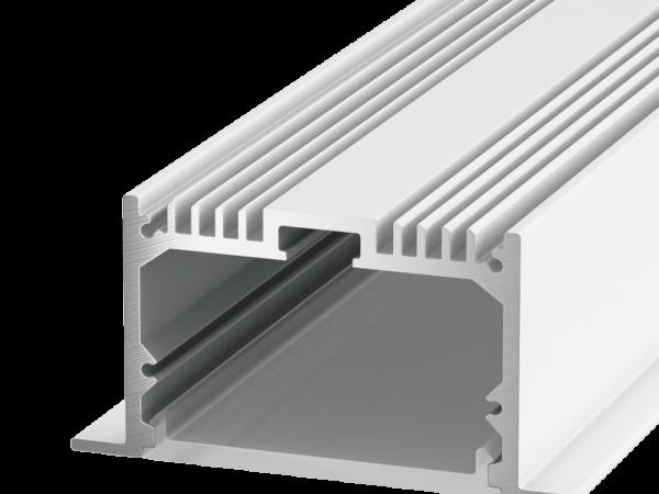 Профиль алюминиевый встраиваемый DesignLed LE.6332-W, белый