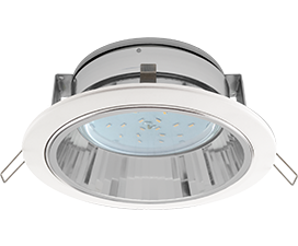 Ecola GX53 H2R Downlight with reflector_white (светильник)  58×125