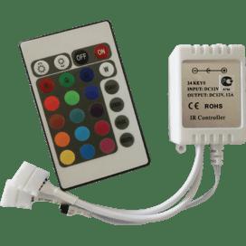 Ecola LED strip RGB IR controller 144W 12V 12A с инфракрасным пультом управления