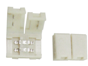 Ecola LED strip connector разъем зажимной 2-х конт. 8 mm 1шт.