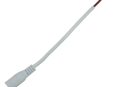 Ecola LED strip connector разъем штырьковый (мама) для адаптера с кабелем 15 см 1шт.