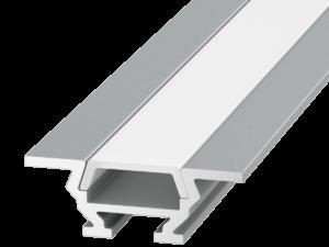 Алюминиевый профиль накладной/встраиваемый угловой RC-1030