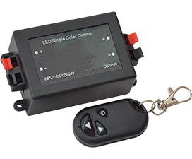 Ecola LED strip Dimmer с радиопультом 8A 96W 12V (192W 24V)