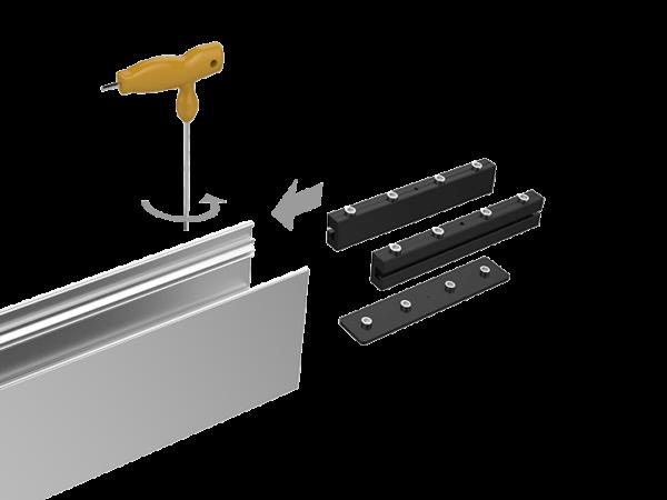 Прямой коннектор для профиля L5570