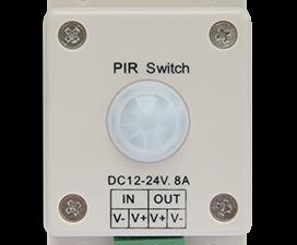 Ecola LED IR Motion Sensor 8A 96W 12V (192W 24V) автоматический выключатель с инфракрасным датчиком