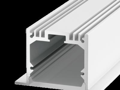 Встраиваемый алюминиевый профиль LE.4932, белый