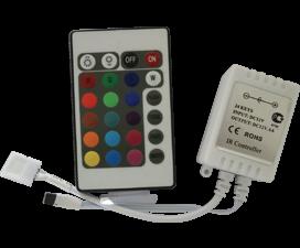 Ecola LED strip RGB IR controller  72W 12V 6A с инфракрасным пультом управления