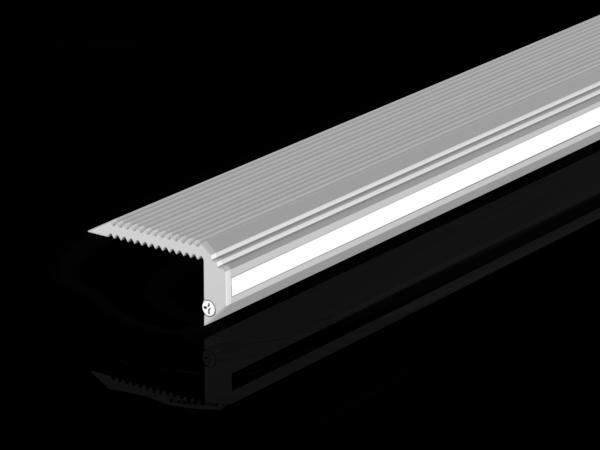 Профиль алюминиевый для ступеней DesignLed STEP 3819B