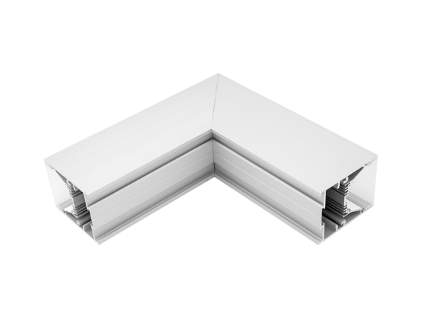 Угловой L-образный коннектор L5570-L90W для профиля L5570