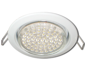 Ecola GX53 H4 Downlight without reflector_white (светильник) 38×106 — 10 pack