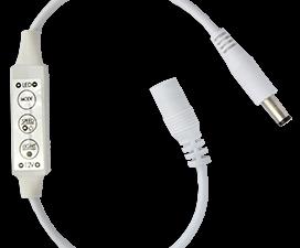 Ecola LED strip Dimmer 6A 72W 12V на проводе с кнопками для управления  с автоматическими режимами