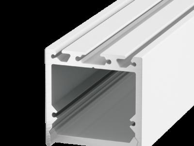 Подвесной/накладной алюминиевый профиль LS.3535, белый
