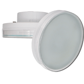 Ecola GX70   LED 13W Tablet 220V 4200K матовое стекло 111×42