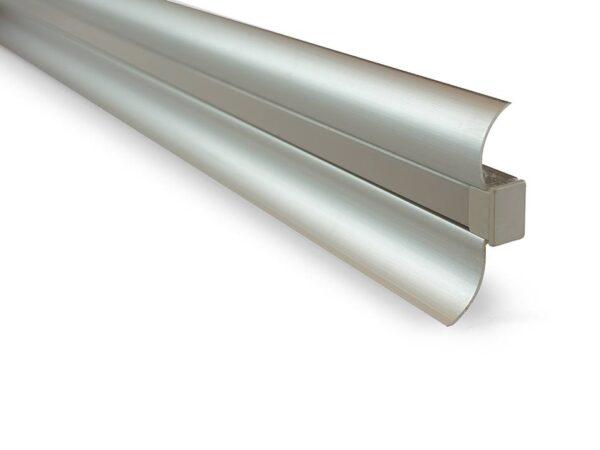 Профиль алюминиевый «плинтус» SWG ARC-5319PL