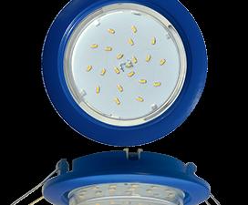 Ecola GX53 5355 Встраиваемый Легкий Синий (светильник) 25×106