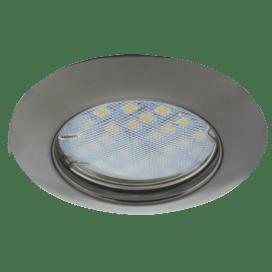 Ecola Light MR16 DL92 GU5.3 Светильник встр. выпуклый Черный Хром 30×80