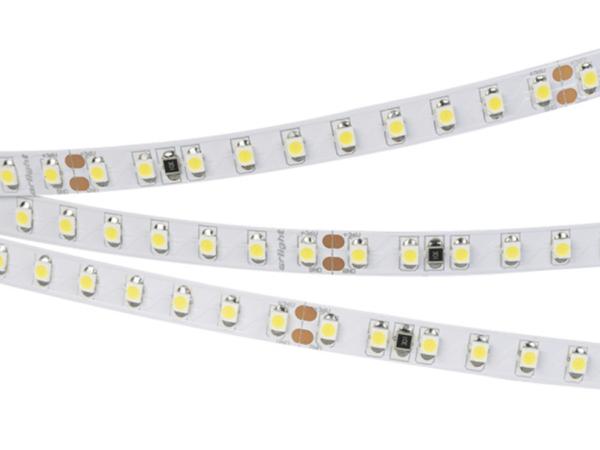 Светодиодная лента RT 2-5000 36V Cool 2x (3528, 600 LED, LUX) (ARL, 9.6 Вт/м, IP20)