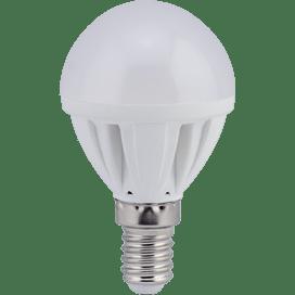 Ecola Light Globe  LED 4.0W G45 220V E14 4000K шар 77×45