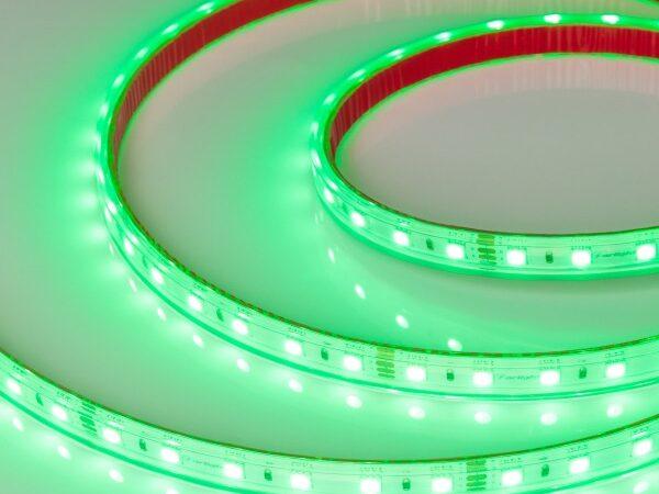 Светодиодная лента RTW 2-5000PS 24V RGB 2x (5060, 300 LED, LUX) (ARL, 14.4 Вт/м, IP67)