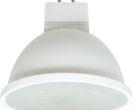 Ecola MR16   LED  7.0W  220V GU5.3 2800K матовое стекло (композит) 48×50