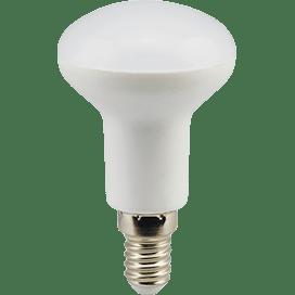 Лампа Ecola Reflector R50 LED  7.0W 220V E14 2800K (композит) 85×50