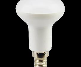 Ecola Reflector R50   LED Premium  8,0W  220V E14 2800K (композит) 87×50