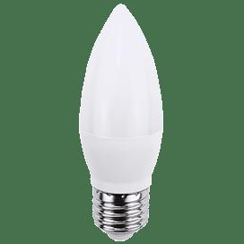 Ecola candle   LED Premium  7,0W 220V E27 6000K свеча (композит) 103×37