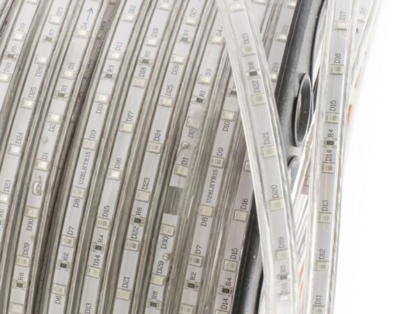 Лента светодиодная 220, SMD3528, 60LED/м, кат 100м, 4,8 Вт/м, IP68, Красный