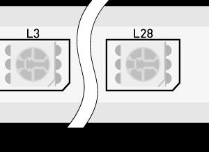 Лента светодиодная 220, SMD5050, 60LED/м, кат  50м, 14,4 Вт/м, IP68, RGB  (RGB)