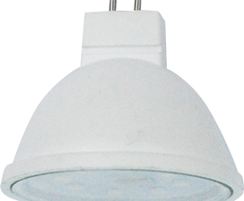 Ecola MR16   LED Premium  8,0W  220V GU5.3 2800K прозрачное стекло (композит) 48×50
