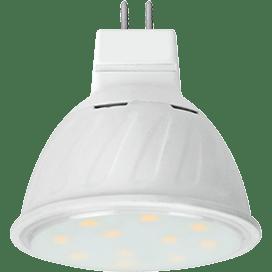 Ecola MR16   LED Premium 10.0W  220V GU5.3 2800K прозрачное стекло (композит) 51×50