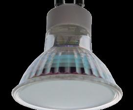 Ecola Light Reflector GU10  LED  3W 220V GU10 4200K матовое стекло 53х50