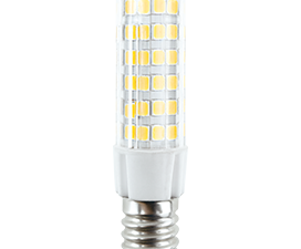 Ecola T25 LED Micro 5,5W E14 2700K 340° кукуруза (для холодил., шв. машинки и т.д.) 62×17 mm
