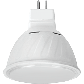 Ecola MR16   LED 10.0W  220V GU5.3 4200K матовое стекло (композит) 51×50