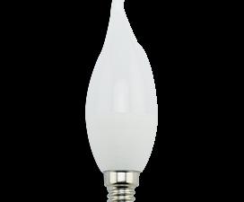 Ecola candle   LED Premium  9,0W 220V E14 4000K свеча на ветру (композит) 129×37