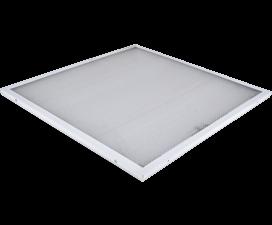Ecola LED panel универс. (без ступеньки) панель с 2-мя драйверами внутри 72W 220V 6500K Призма 595×5