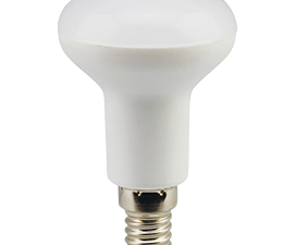 Ecola Light Reflector R50 LED  7,0W  220V E14 2800K (композит) 85×50 (1 из ч/б уп. по 4)