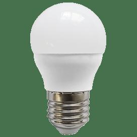 Ecola globe   LED Premium  9,0W G45  220V E27 6000K шар (композит) 82×45