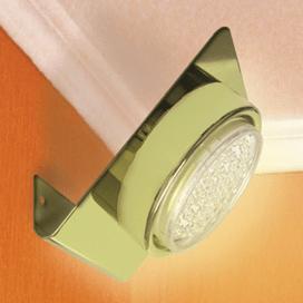 Ecola GX53-N82 светильник настенный угловой золото 52*130*111(0мб/4/6/10)