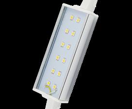 Ecola Projector   LED Lamp Premium 12,0W F118 220V R7s 6500K (алюм. радиатор) 118x20x32