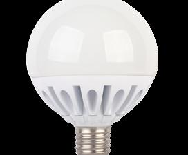 Лампа Ecola globe   LED Premium 20.0W G95 220V E27 2700K шар (ребристый алюм. радиатор) 130×95