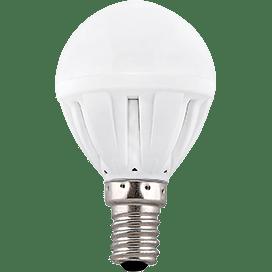 Лампа Ecola Light globe LED  5.0W G45 220V E14 4000K шар  77×45