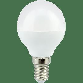 Ecola globe   LED Premium  7,0W G45  220V E14 4000K шар (композит) 77×45