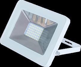 Ecola Projector  LED  30,0W 220V 4200K IP65 Светодиодный Прожектор тонкий Белый 188x132x17