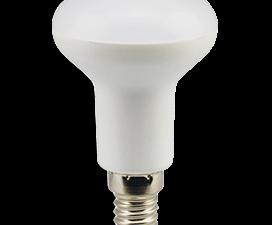 Ecola Light Reflector R50 LED  7,0W  220V E14 4200K (композит) 85×50 (1 из ч/б уп. по 4)
