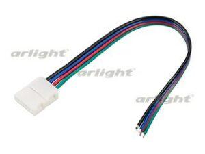 Коннектор выводной FIX-RGB-10mm-150mm-X1 (4-pin)