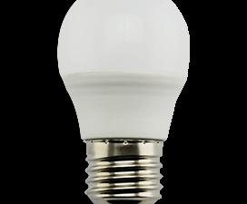 Ecola Light Globe  LED  7,0W G45  220V E27 2700K шар (композит) 82×45  (1 из ч/б уп. по 4)